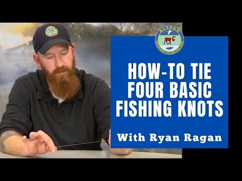 How To Tie Four Basic Fishing Knots