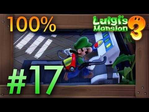 Luigi's Mansion 3: 100% Walkthrough Part 17 - Fitness Center (13F)