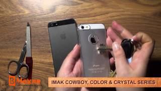 Обзор чехлов Imak Cowboy, Color & Crystal Series (на примере iPhone 5)