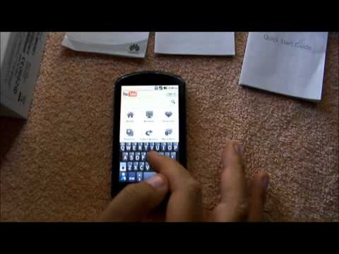 Unboxing the Huawei U8800 IDEOS X5 in Sydney Australia