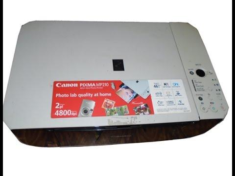 driver stampante canon mp210