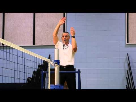 2014-2015 NFHS Volleyball Signals for Referee (R1) produced by ZONI