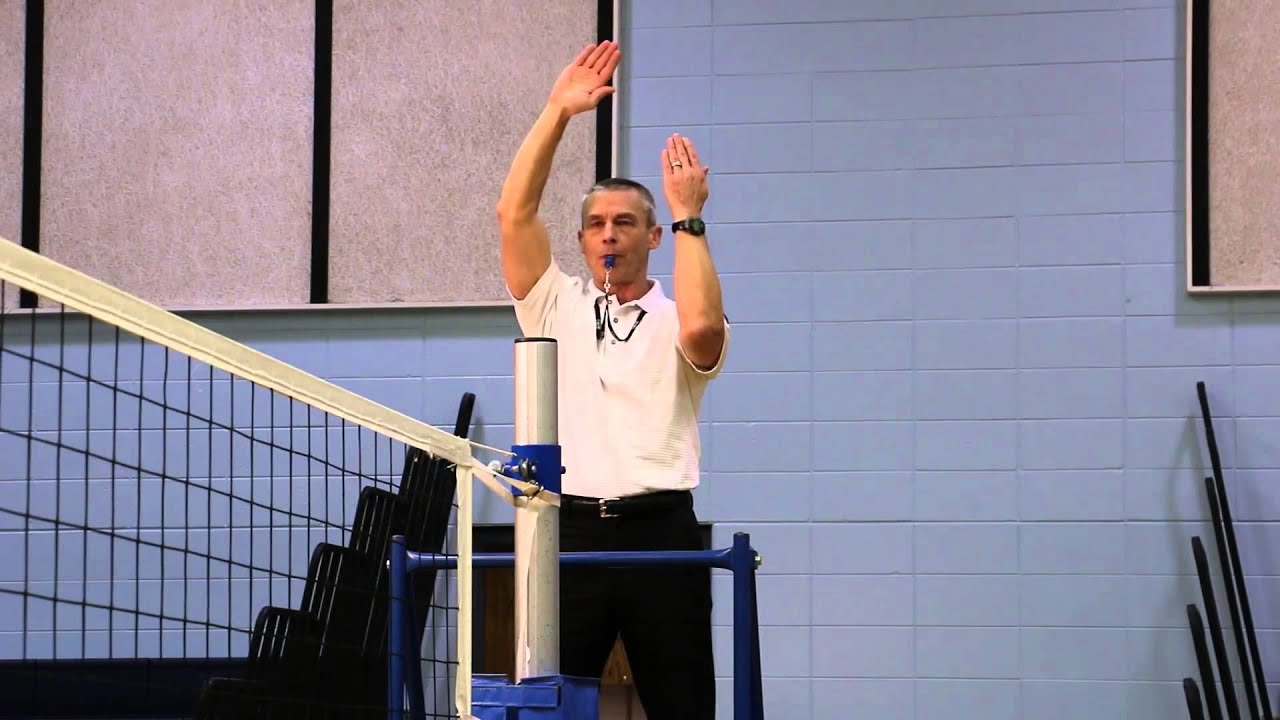 2014-2015 NFHS Volleyball Signals for Referee (R1) produced by ...