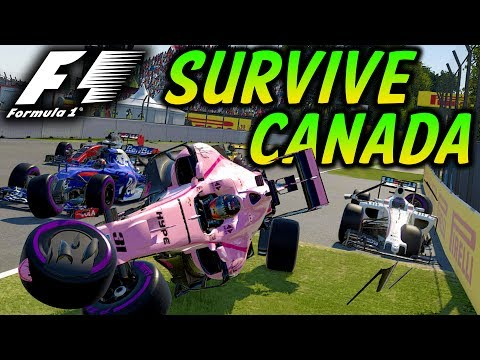 SURVIVE CANADA - Extreme Damage Mod F1 Game