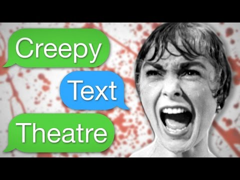 Creepy Text Theatre - TOO HOT For YouTube