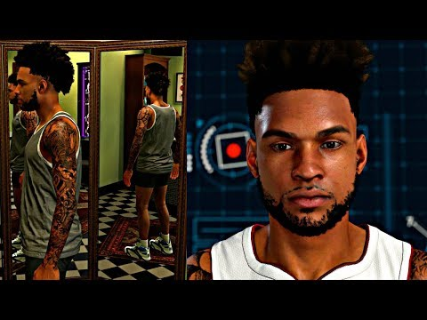 NBA 2K18 MyCAREER - Creation Of The BEST MyPlayer EVER | Swagged Out Cameron Baker Tats & Crossovers