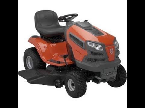 Husqvarna 48 Inch Lawn Tractor Youtube