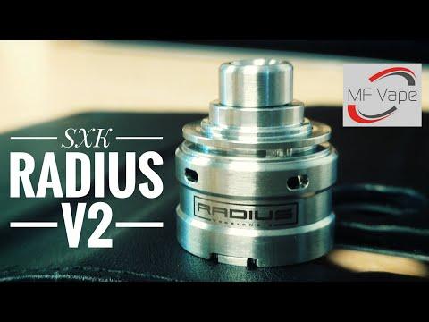 SXK Radius V2 RDA - Review, build & wick