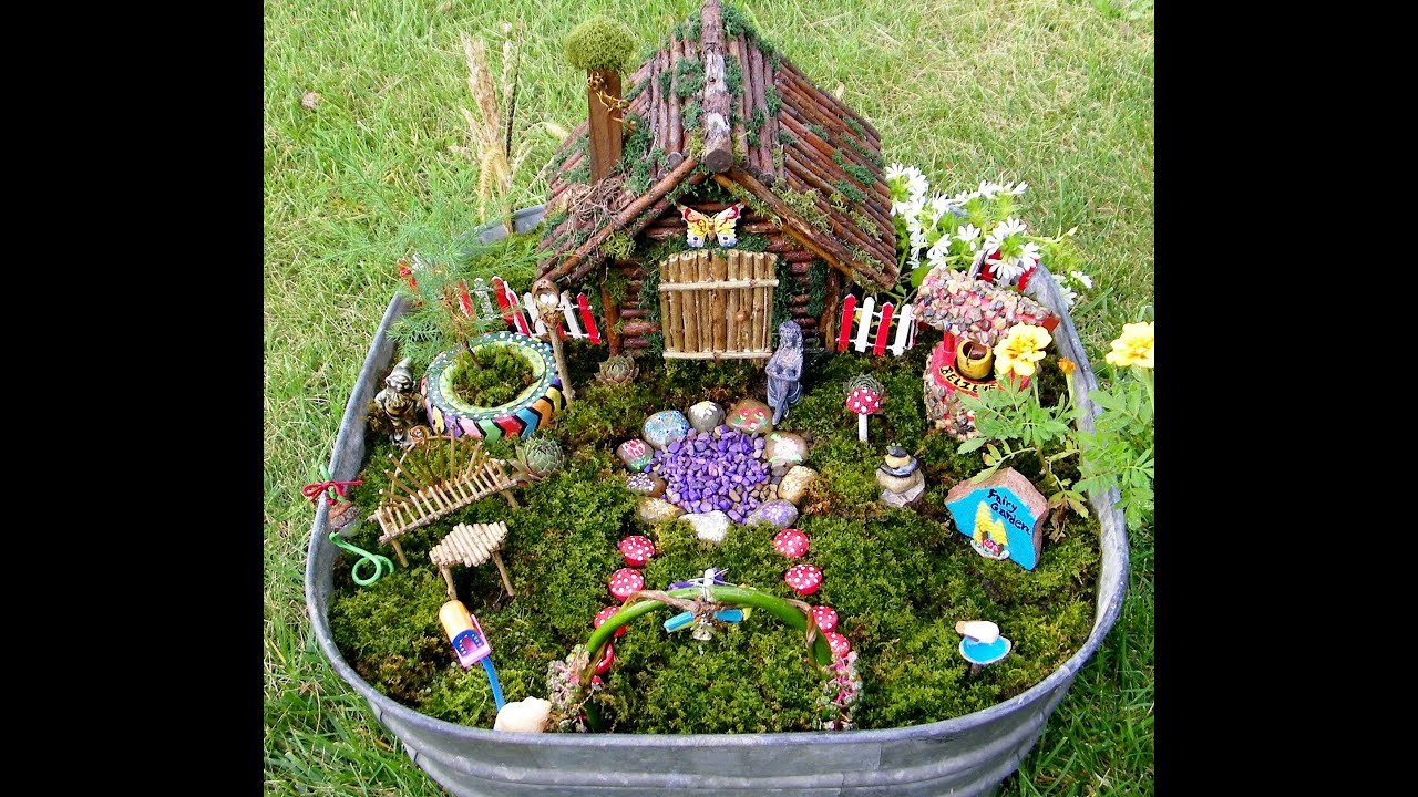 Lovely Fairy Garden #2   YouTube