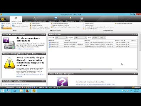Symantec Backup Exec - Instalación en Windows Server 2012 R2