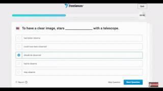Freelancer US English Level 1 Skills Test - YouTube|Freelancer.com US English level 1 2017 - july