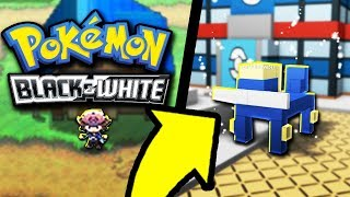 Pokemon Black and White Remade in Roblox