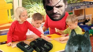 Big Boss is good with kids and animals