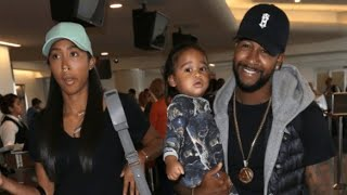 Omarion Took His Kids From Apryl