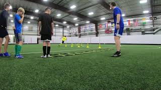 Soccer Training Drills #12 - Youth Soccer Drills to Improve Different Soccer Skills in the Game