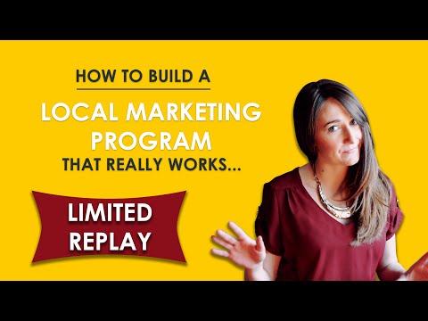 March Webinar Series Five Figure Local Marketing Program