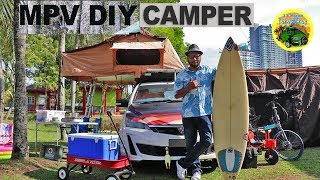 🚐 S4 E10 Proton Exora, Perodua Alza & Toyota Unser MPV Camper | #DIYCampervans Malaysia