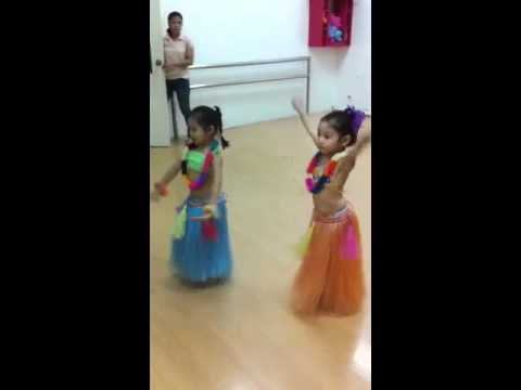Hawaiian dance lessons at Twinkle Toes Ballet and Music Aca