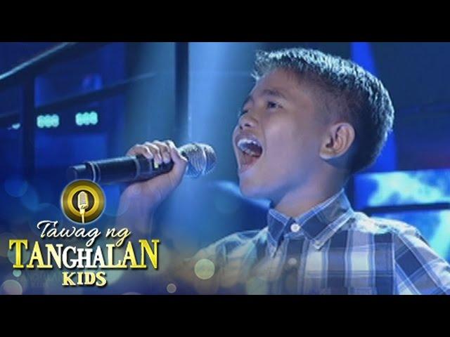 Tawag ng Tanghalan Kids: Ned Kelly Pangan | Ngayon