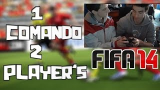 FIFA 14- 1 COMANDO 2 PLAYER