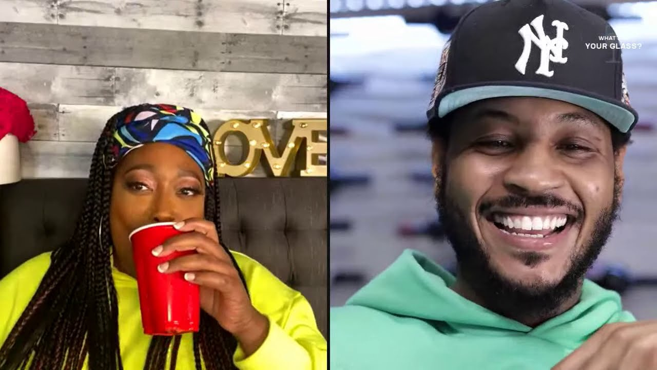 Loni Love | What's In Your Glass? | Carmelo Anthony