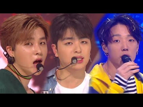 《EXCITING》 iKON - Rubber Band @ Inkigayo 20180325