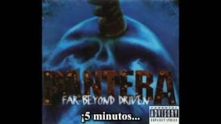 Pantera - 5 Minutes Alone (Sub. Esp.)