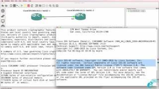 GNS3 Cisco CSR 1000v setup and configuration Part 2: GNS3 NFV
