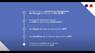 Le Système de Management de l'énergie en collectivités : pourquoi ? comment ?