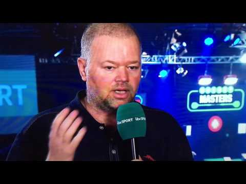 Raymond van Barneveld talks about Michael van Gerwen hitting a 360 with two different sets of darts