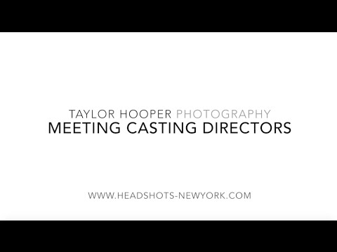 Acting as a Business Series, Episode 3: Meeting Casting Directors
