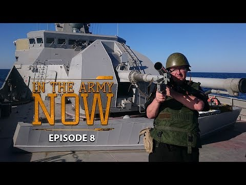 Demining the sea & why a woman on board is bad luck– In the Army Now Ep.8
