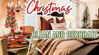 CHRISTMAS CLEAN AND DECORATE WITH ME 2019 🎄❤💚 | Cook Clean And Repeat