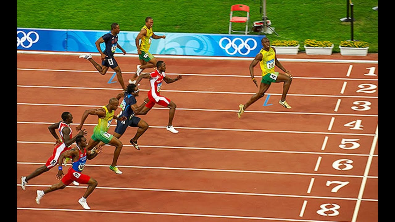 Usain Bolt WINS 100m Olympic Final HOW? - YouTube