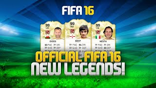 FIFA 16 ULTIMATE TEAM! OFFICIAL NEW LEGENDS & LEGEND CHEMISTRY!