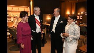 Արմեն Սարգսյանը կնոջ հետ՝ Ճապոնիայի կայսեր գահակալությանը