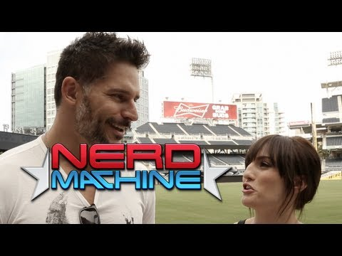 Joe Manganiello - Exclusive Interview - Nerd HQ (2013) HD - Alison Haislip