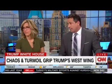 CNN 030118 Chris Cuomo - Chaos & Turmoil grip Trump's West Wing - Putin's Invincible Missile