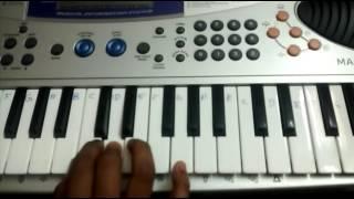 Download Hindi Video Songs - PONA USURU FROM THODARI ON KEYBOARD WITH NOTES