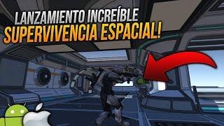 LANZAMIENTO JUEGO DE SUPERVIVENCIA ESPACIAL MUNDO ABIERTO ONLINE ANDROID & iOS!