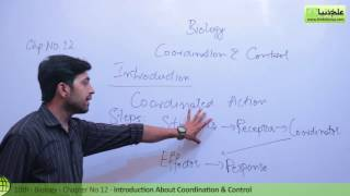 Introduction about Coordination and Control - Biology Ch 12 Coordination and Control - 10th Class