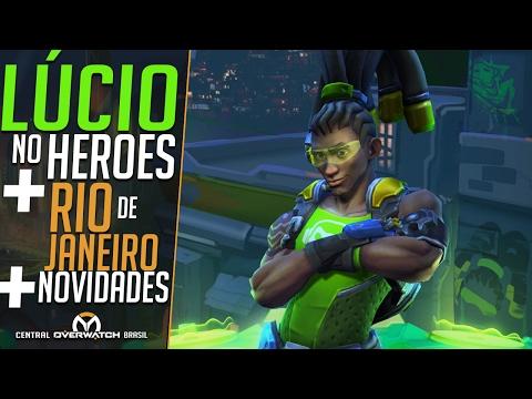 LÚCIO NO NEXUS + RIO DE JANEIRO VERSÃO OVERWATCH + NOVIDADES DA SEMANA - Central Overwatch Brasil