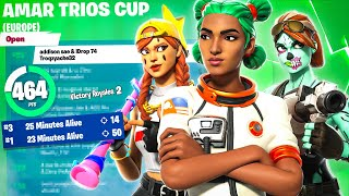 We dropped a 50 KILL Game \u0026 Qualified for ROUND 2 (Amar Trio Cash Cup)