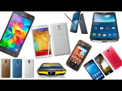 Samsung Galaxy Smartphones - Timeline / History