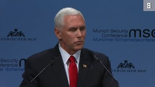 Münchner Sicherheitskonferenz: Fünf Sekunden Schweigen gegen Trump