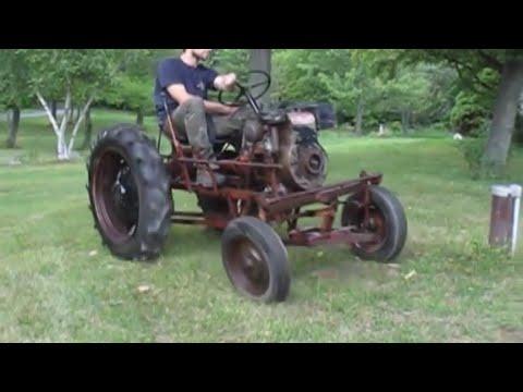1952 Economy Power King Garden Tractor on Ebay YouTube