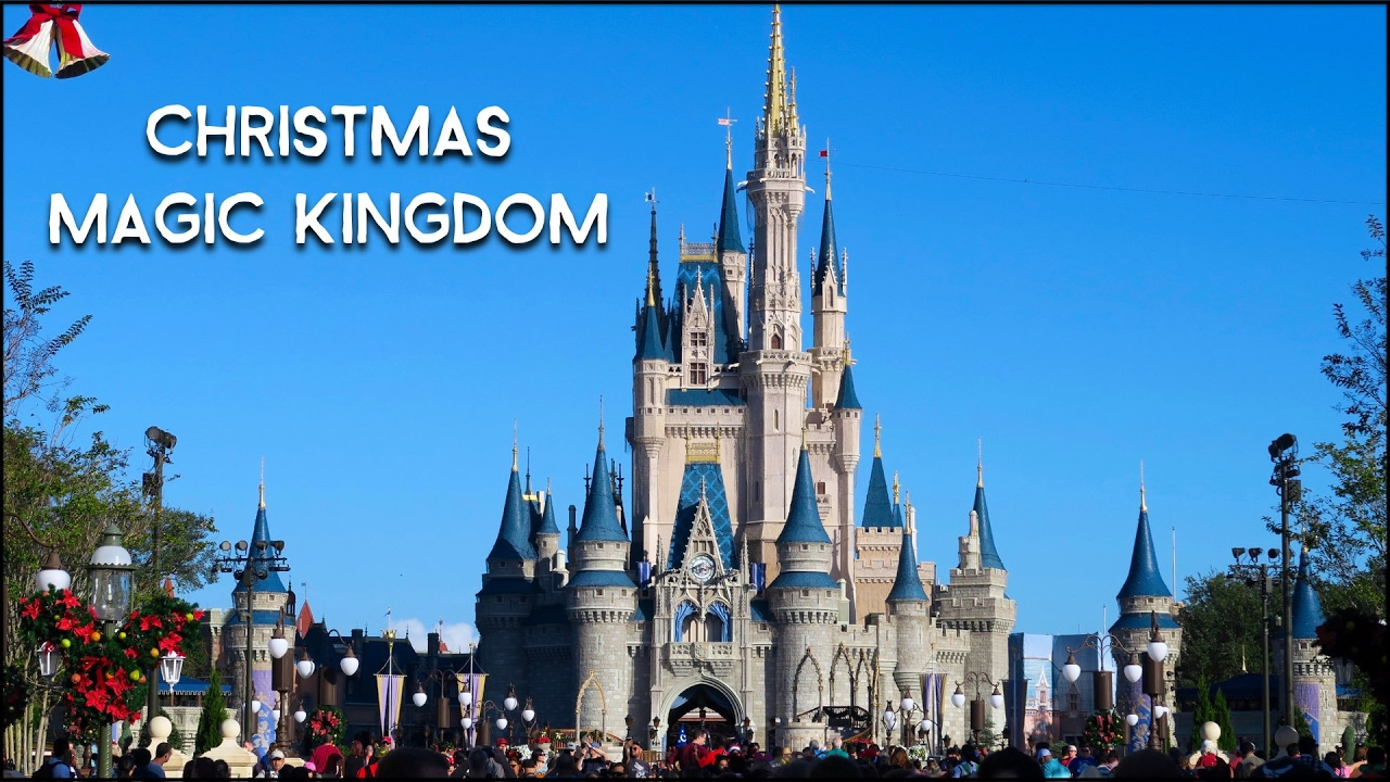 surviving magic kingdom on christmas day disney world