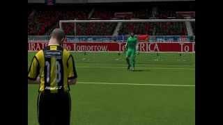 Paris Saint Germain Vs Peñarol | Fifa14 | Penales