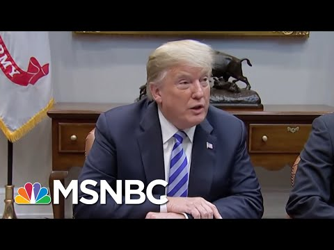 'Volcanic' Donald Trump Says NYT Must Name Official Who Wrote Op-Ed | The 11th Hour | MSNBC