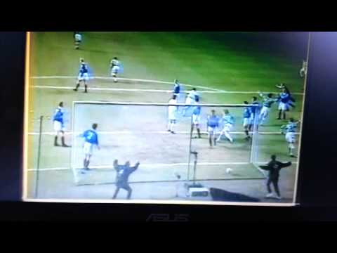 Malky MacKay scoring in Scottish Cup Old Firm